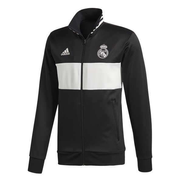 1cf17f55f07 adidas Real Madrid 18 3S Track Top Blk