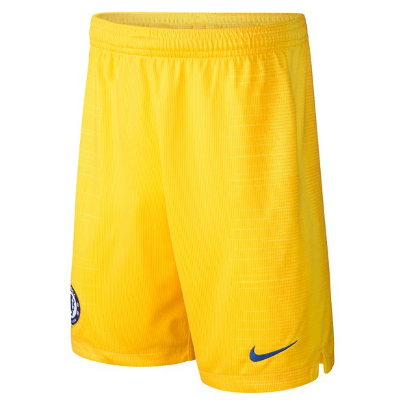 promo code 2d14a 60a6c Nike Chelsea 201819 Kids Away Short, Yellow