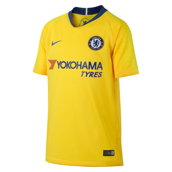 Nike Chelsea 2018/19 Kids' Away Jersey, Yellow