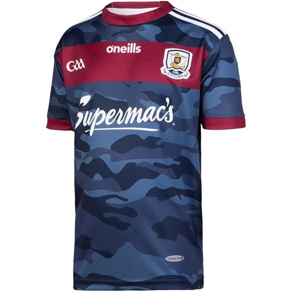 O'Neills Galway 2018 Junior Alternative Jersey, Navy