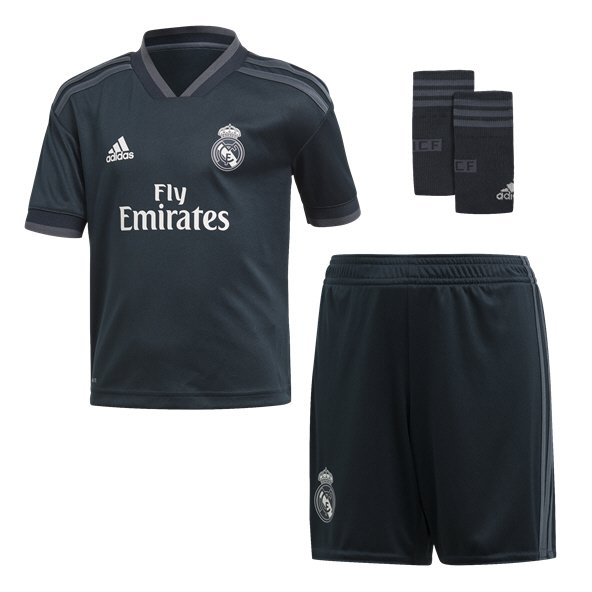 adidas Real Madrid 2018/19 Away Mini Kit, Navy