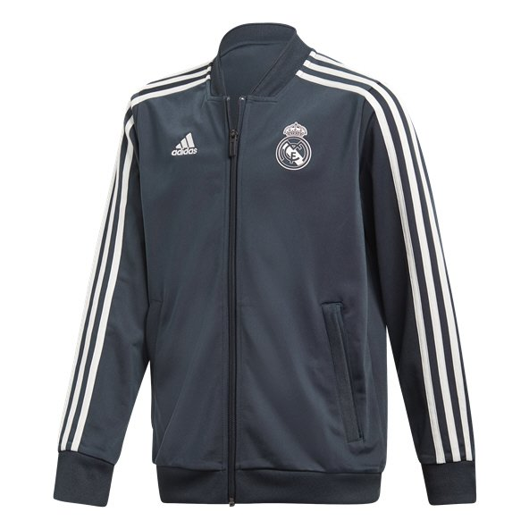 adidas Real Madrid 18 Tr Kid Pres Jkt Nv