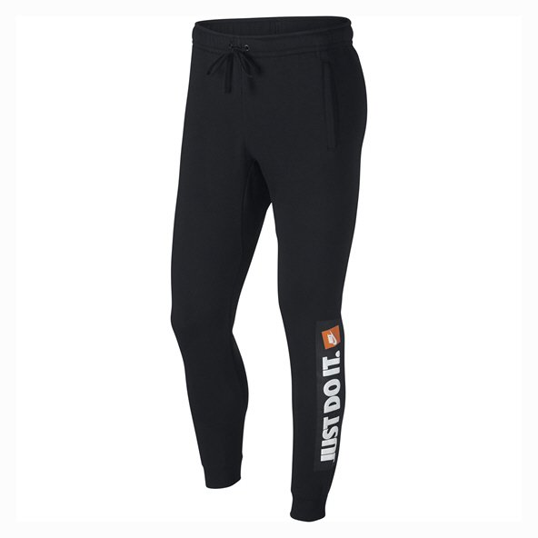 "Nike Swoosh ""Just Do It"" Mens Jogger, Black"