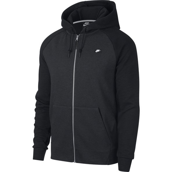 Nike Swoosh Optic Men's Full Zip Hoody, Black