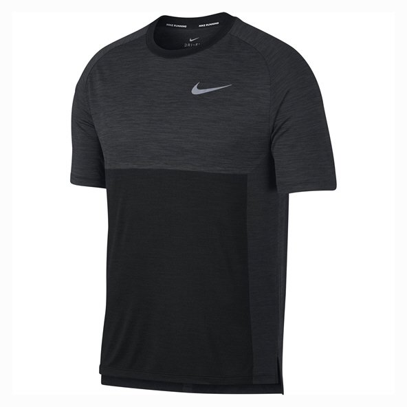 Nike Dry Medalist Men's Running T-Shirt, Grey