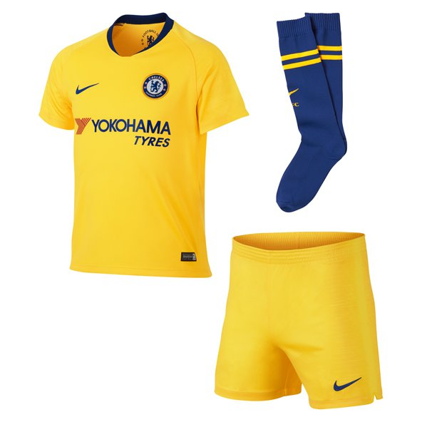 Nike Chelsea 2018/19 Away Mini Kit, Yellow
