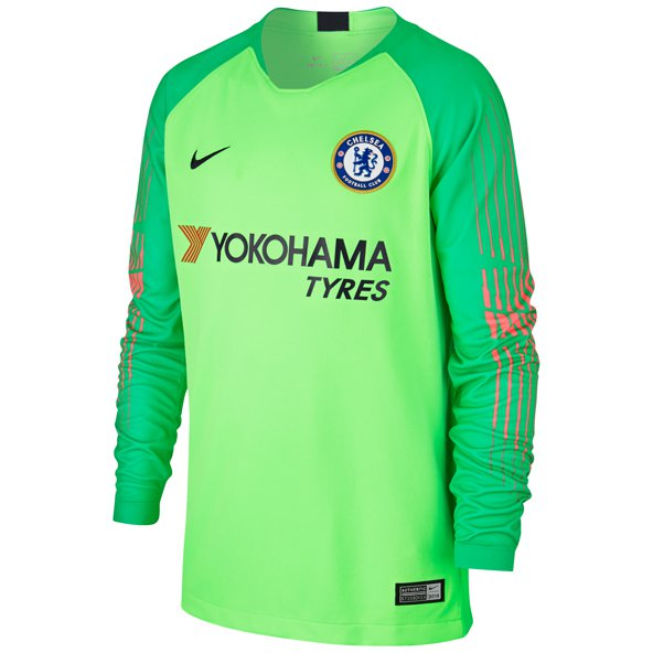 Nike Chelsea 2018/19 Kids' Goalkeeper Jersey, Green