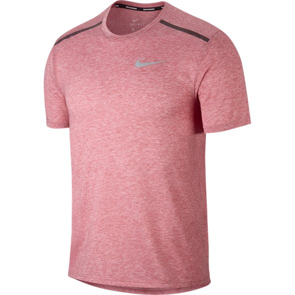 Nike Breathe Rise 365 Running Men's T-Shirt, Red