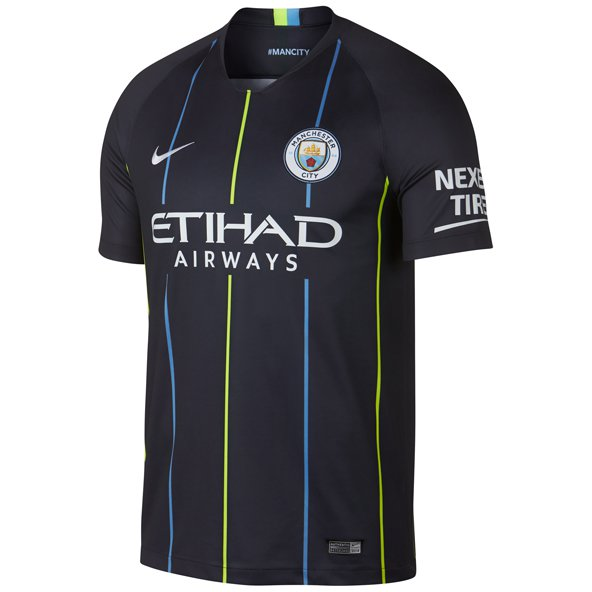 Nike Man City 2018/19 Away Jersey, Navy