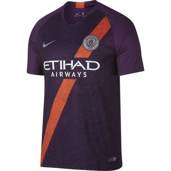 Nike Man City 2018/19 3rd Jersey, Purple