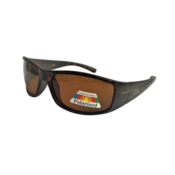 RB Sunglasses Blk & Brn Polarized Sports