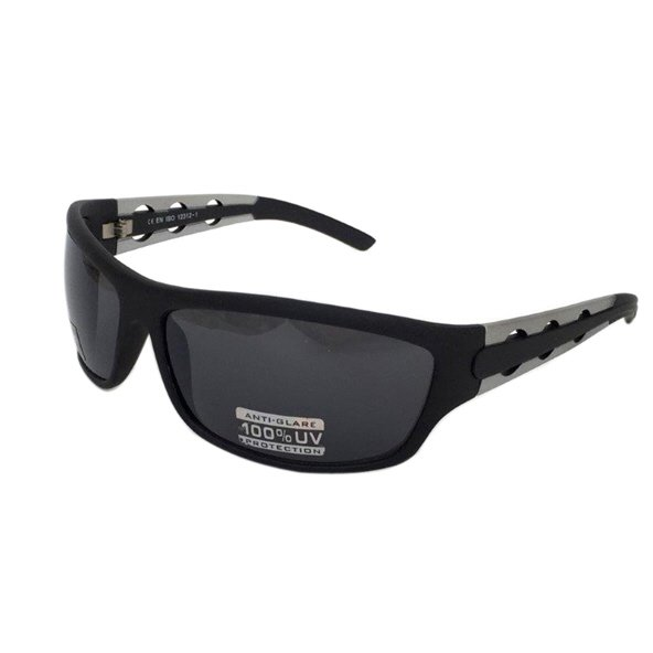 RB Sunglasses Wrap Temple Holes 2 Tone