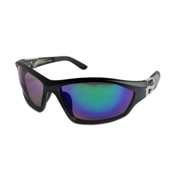 RB Sunglasses Grey Sports Wrap Revo Lens