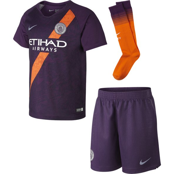 Nike Man City 2018 19 3rd Mini Kit 2dd6fddc2463