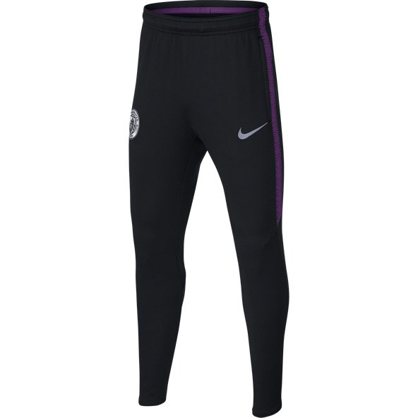 Nike Man City 2018/19 Squad Kids' Pant, Black