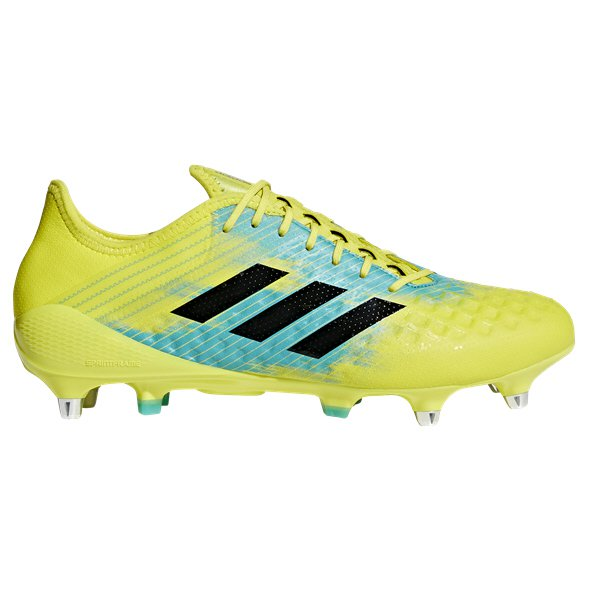 adidas Predator Malice Control SG Rugby Boot, Yellow