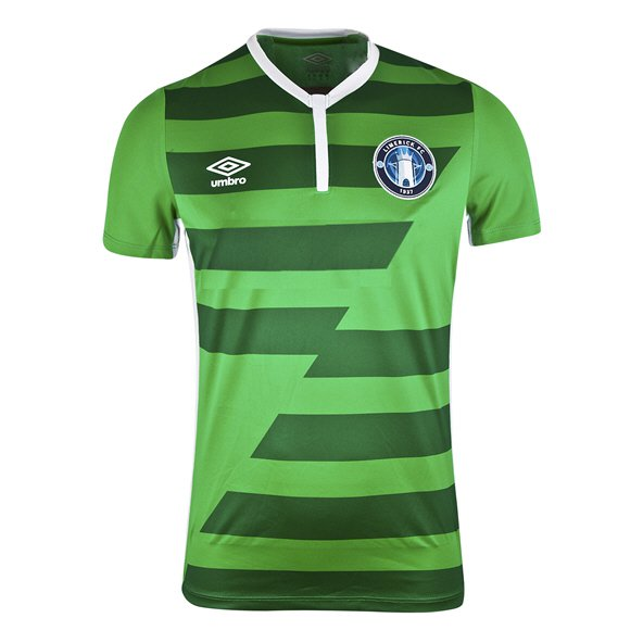 Umbro Limerick FC 2018 Kids' Away Jersey, Green