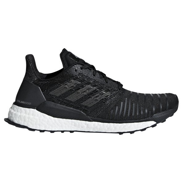 adidas SolarBoost Women's Running Shoe, Black
