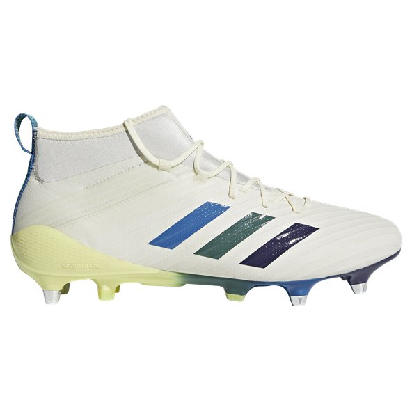 adidas Predator Flare SG Rugby Boot, White