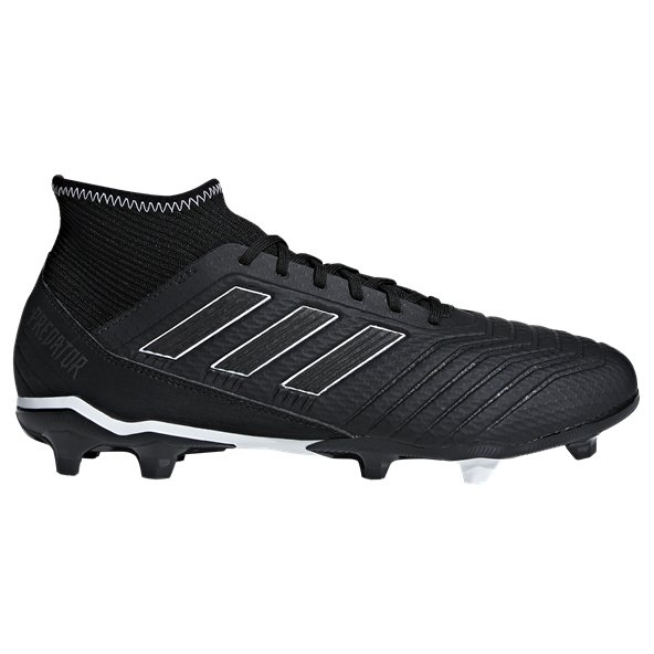 adidas Predator 18.3 FG Football Boot, Black