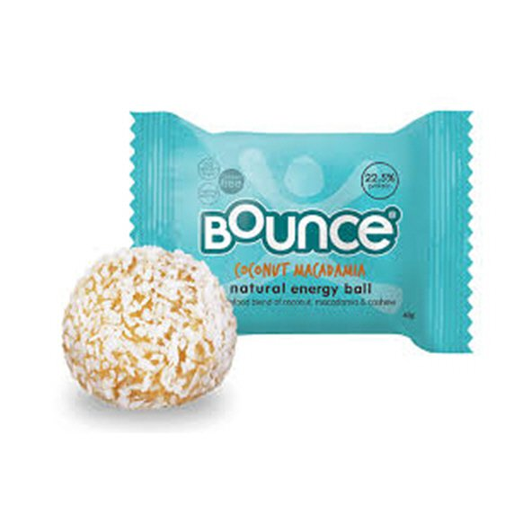 Bounce Protein Energy Ball, Coconut & Macadamia