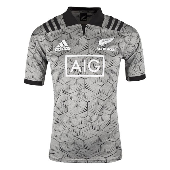 adidas All Blacks 2018 Training Jersey, Grey