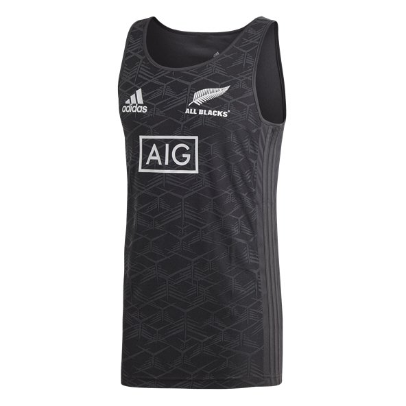 adidas All Blacks 2018 Singlet, Black