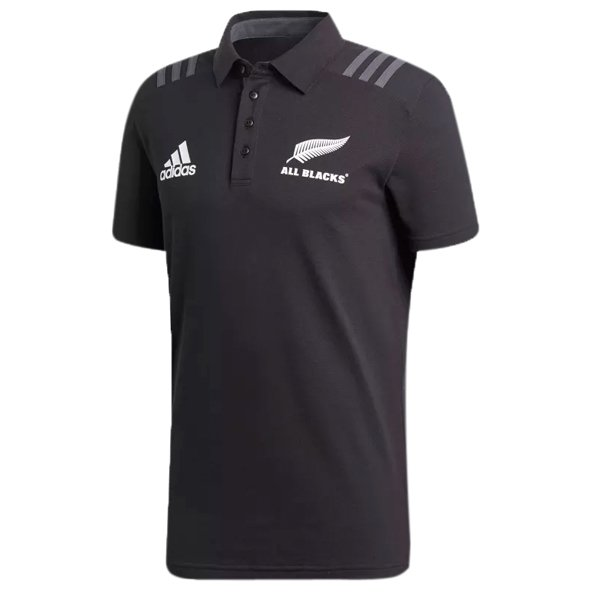 adidas All Blacks 2018 Men's Polo Shirt, Black