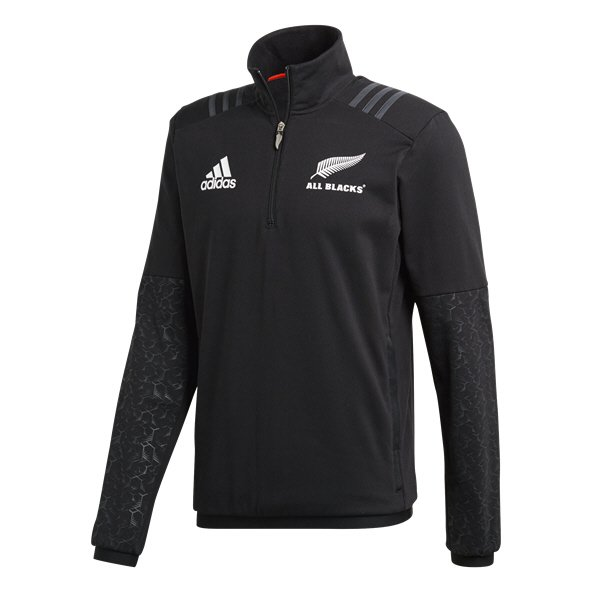 adidas All Blacks 2018 ¼ Zip Fleece, Black