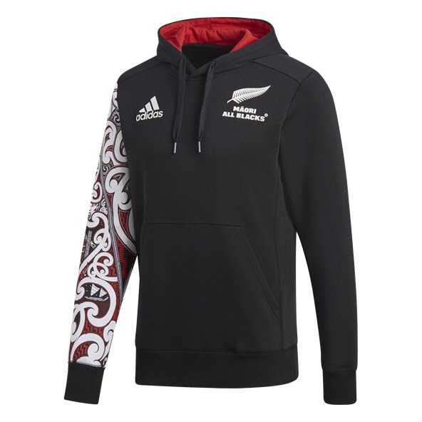 adidas Maori All Blacks 2018 Men's Hoody, Black