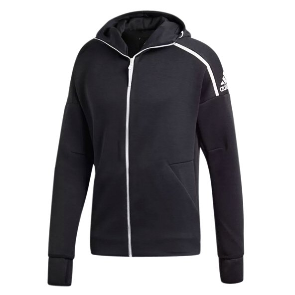 adidas Z.N.E. 3.0 Men's Striker FZ Hoody, Black
