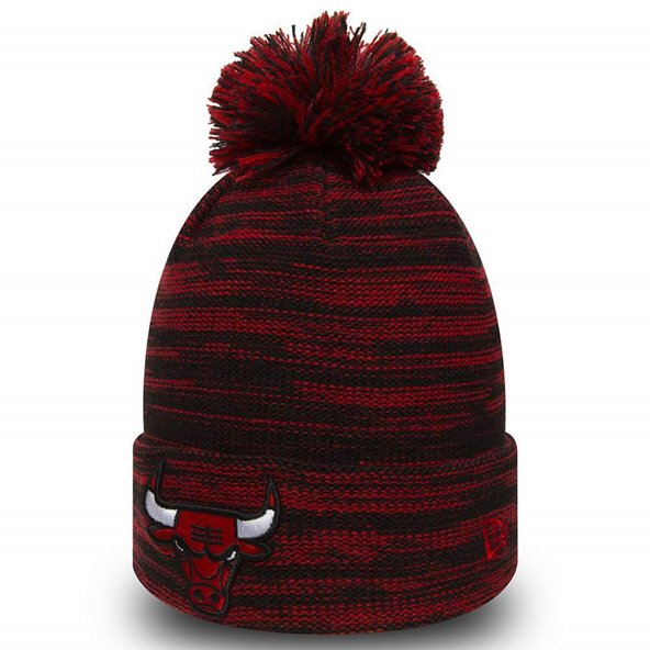 New Era NBA Chicago Bulls Marl Knit Red