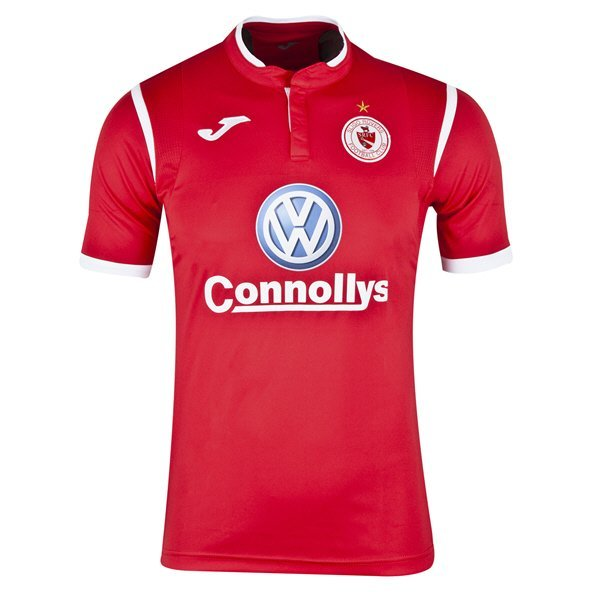 Joma Sligo 2019 Rovers Home Jersey, Red