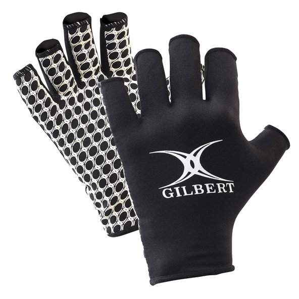 Gilbert International Rugby Glove Black