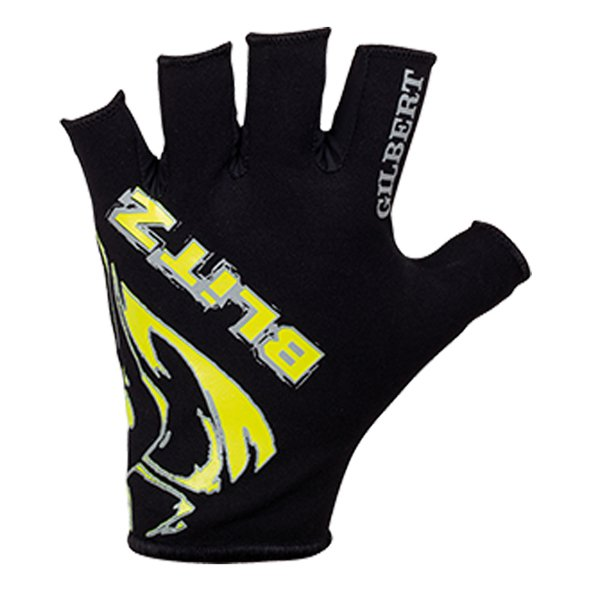Gilbert Blitz Kids Rugby Glove Black