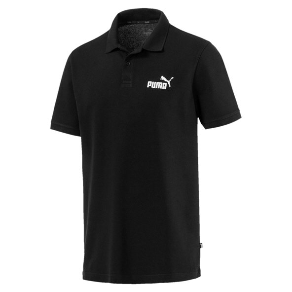 Puma Essential Pique Men's Polo, Black