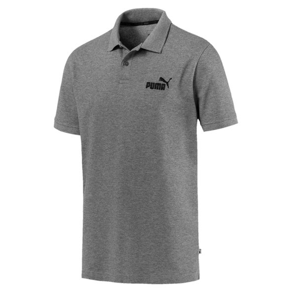 Puma Essential  Pique Men's Polo, Grey