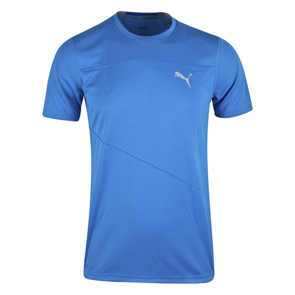 Puma Mono Run Mens Tee Strong Blue