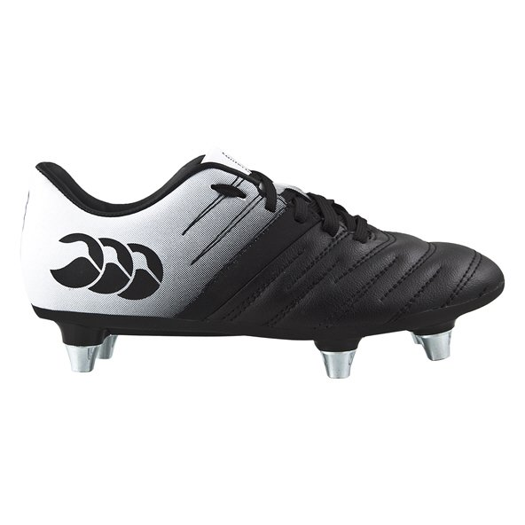 Canterbury Phoenix 2.0 Phantom Kids' Rugby Boot, Black