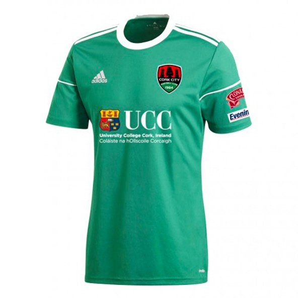 adidas Cork City 2018 Kids' Home Jersey, Green