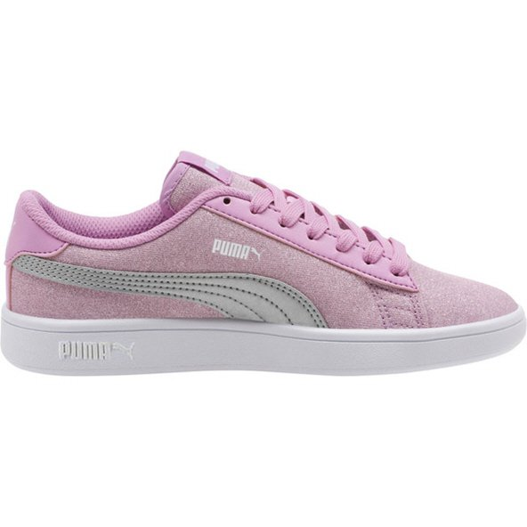 Puma Smash v2 Glitz Glam Girls' Trainer, Purple
