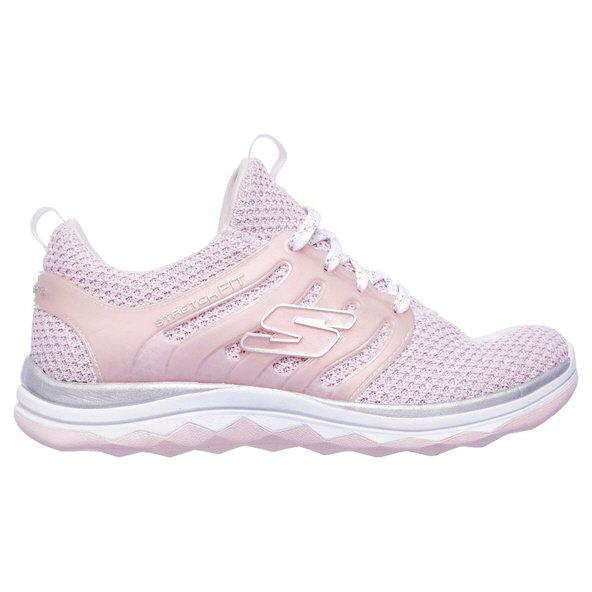 Skechers Sparkle Sprints Girl Run Pnk/Wh