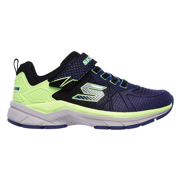 Skechers Ultrasonix Junior Boys' Trainer, Navy