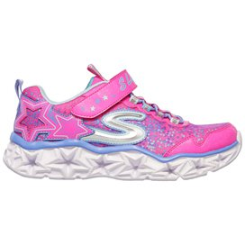 Skechers Galaxy Lights Infant Girls' Trainer, Pink
