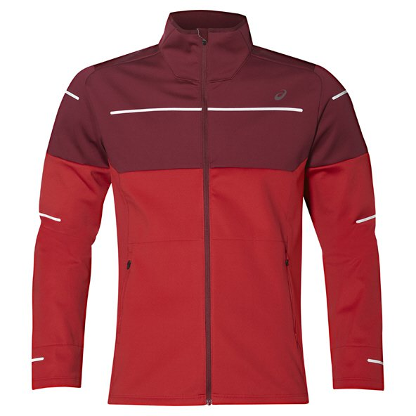 Asics Lite-Show Men's Winter Jacket, Red