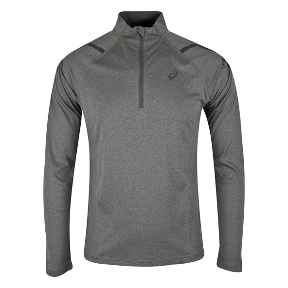 Asics Icon Men's ½ Zip LS Running Top, Grey