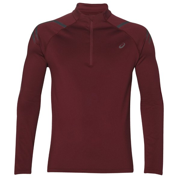 Asics Icon Winter ½-Zip Men's Running Top, Cordavan