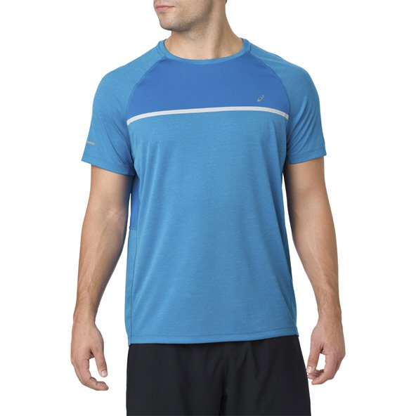 Asics Icon Racer Men's Running T-Shirt, Blue