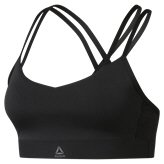 Reebok Hero Strappy Women's Bra, Black