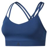 Reebok Hero Strappy Women's Bra, Blue